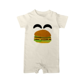 Thank you for your timeの2525 ^^ バーガー Baby rompers