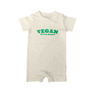 VEGAN for the Animals Baby rompers
