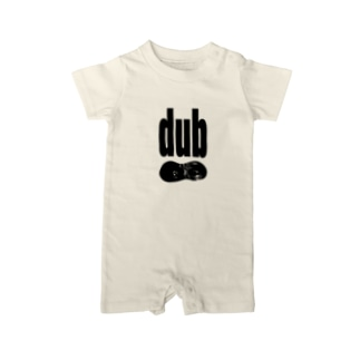dub  Baby rompers
