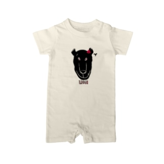 LION GIRL Baby rompers