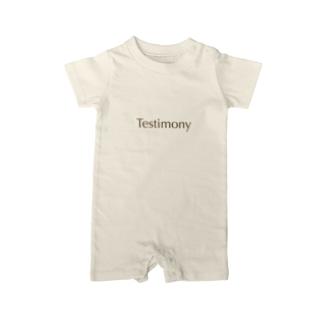 Testimony Original : MUD Baby rompers