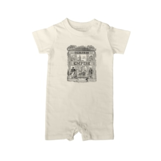 THE CHINESE EMPIRE Baby rompers
