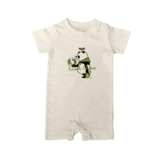 SAVE PANDA Baby rompers