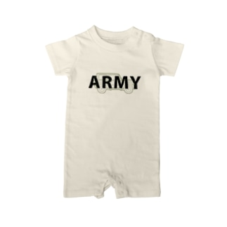 U.S.ARMYなジムニー Baby Rompers