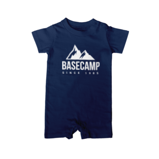 BASE-CAMPのBASE MOUNTAIN 03 WHITE Baby rompers