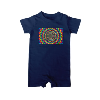 psychedelic-02 Baby rompers
