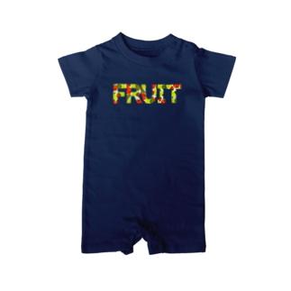 フルーツでできてるFRUIT Baby rompers