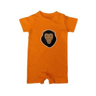 チンパンジー Baby rompers
