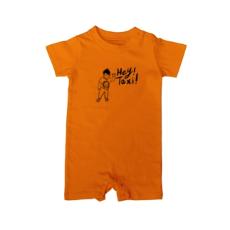 Hey!Taxi! Baby rompers