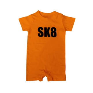 SK8グッズ Baby rompers