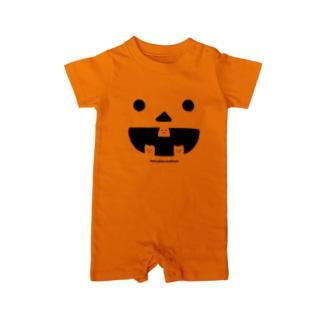 おやしらずくんのかぼちゃ【期間限定】 Baby rompers