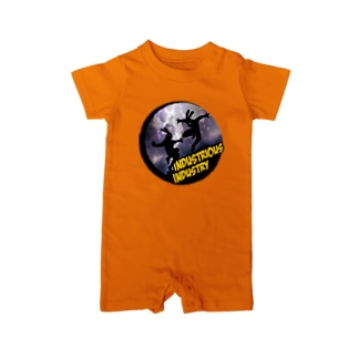 industrious industryのアメイジング Baby rompers