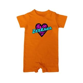 ZebRana Baby rompers