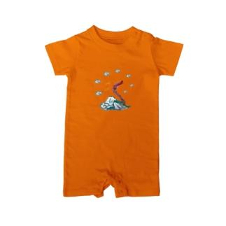 八雲富士竜(やくもふじたつ) Baby rompers