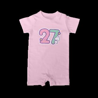 ぷわぷわぺこの27ちゃん専用 Baby rompers