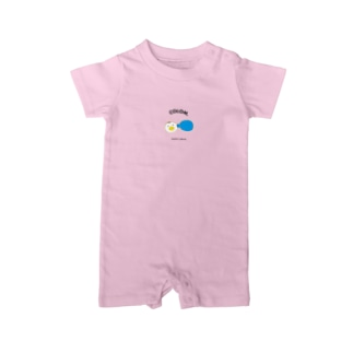 COLOM.ペンギンリボン!グッズ! Baby rompers