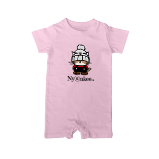 Nyankeeのニット帽なあいつ   (Ny@nkee) Baby rompers