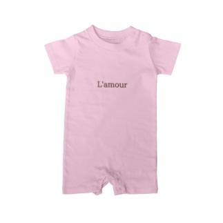 LOVE LOGO Baby rompers