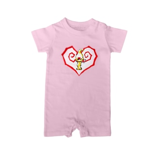Heart of angel  Baby rompers