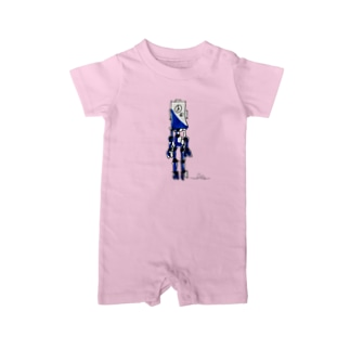 ibeetのロボット4 Baby rompers