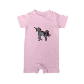 Aqua UNICORN Baby rompers