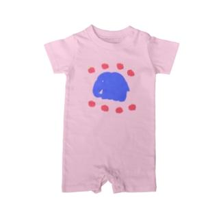 象🐘と林檎🍎  Baby rompers