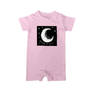 good-night. Baby Rompers