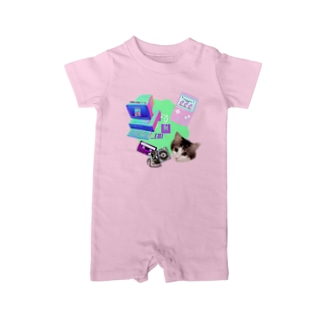 momo_emi 電化製品 Baby rompers