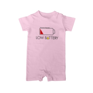 LOW BATTERY Baby Rompers