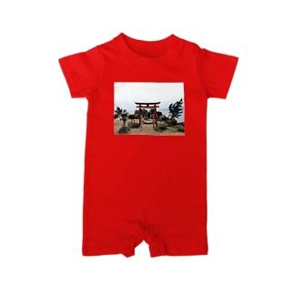Go through torii Baby rompers