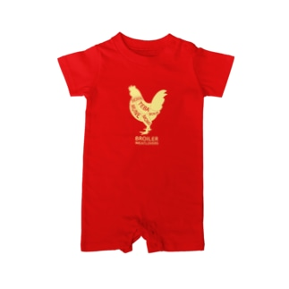 chicken 2 Baby rompers