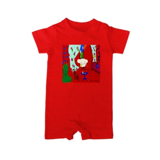The Red Room/Cafe de Calkyon Baby rompers