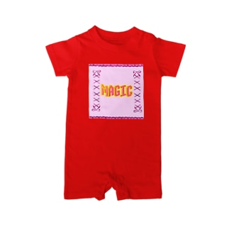 Try_AgainのMAGIC Baby rompers
