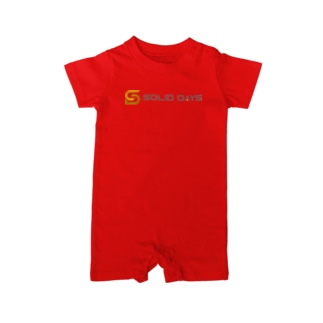 SOLID DAYS グッズショップのSOLID DAYS 2020 Baby rompers