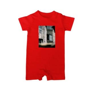 心霊写真(窓の女②) Baby rompers