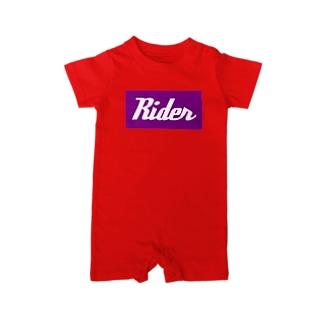 Rider(ライダー) Baby rompers