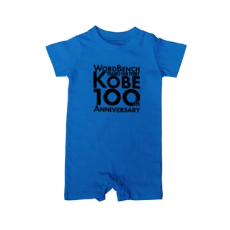 WBKOBE 100th PT04 Baby rompers