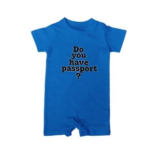 パスポートは Baby rompers