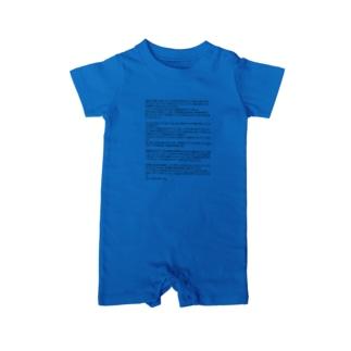 ポエマーパートTシャツ 中東2015Summer Baby rompers