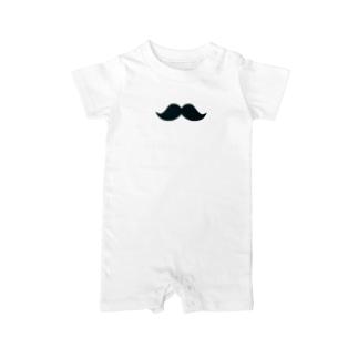 シンプル髭男爵 Baby rompers