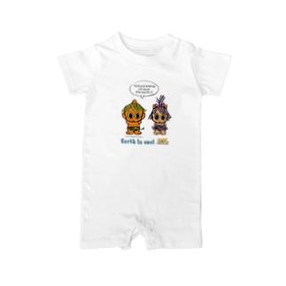 GOROGORO & HIKARU Baby rompers