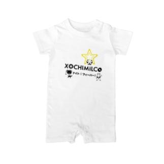 XochimilKids サタデーナイトフィーバー Baby rompers