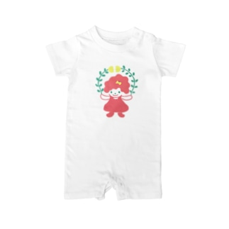 Flower GirLLL Baby rompers