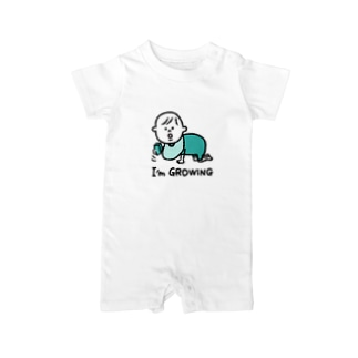 BOY成長中 Baby rompers