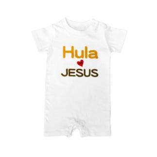 GOSPEL HULA Baby rompers