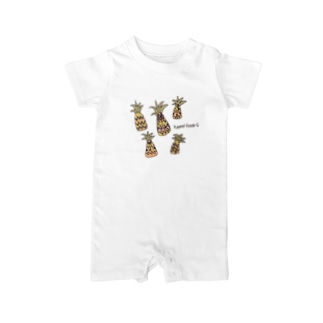pineapple Baby rompers