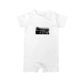仮想通貨マイニングTシャツ Baby rompers