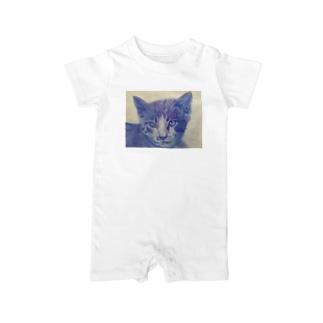 渋色猫 Baby rompers
