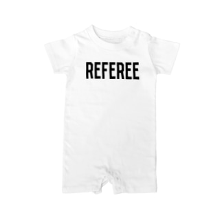 REFEREE レフェリーロゴ Baby rompers