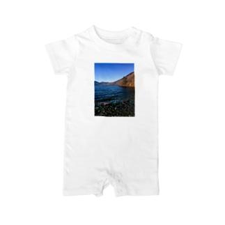 中禅寺湖1 Baby rompers